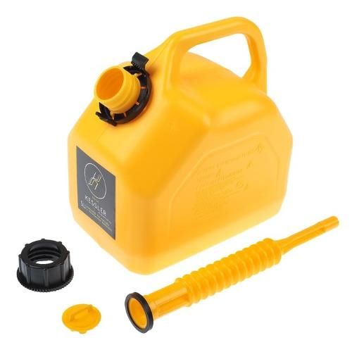 Universal Premium HDPE jerrycan with flexible spout inside