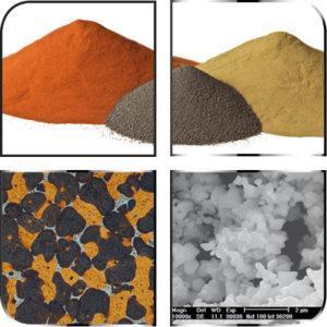 Polveri metalliche e additivi
