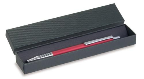 Writing instrument cases with corrugated structure paper