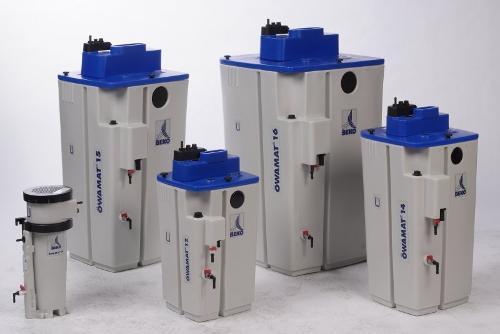 Separador de condensado agua-aceite