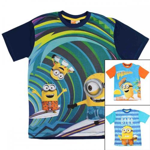 18x T-shirts Minions du S au L