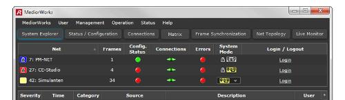 Software for media networks