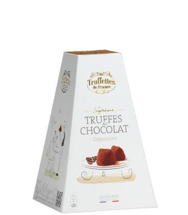 Truffes au chocolat saveur café