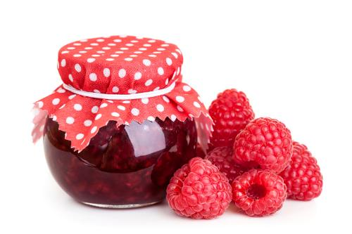 Conserve (berries jam) and jam