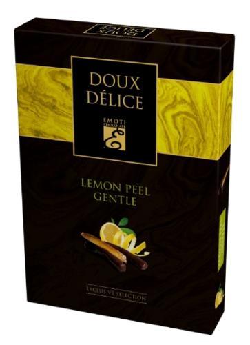 EMOTI Lemon Peel Dark Chocolates, 120g