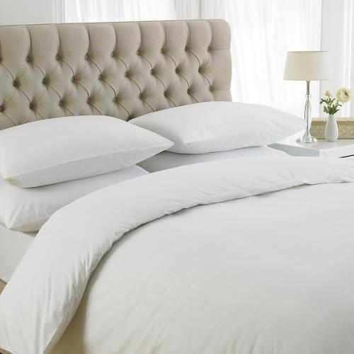 Edwardian collection white bag style duvet covers 200 Thread