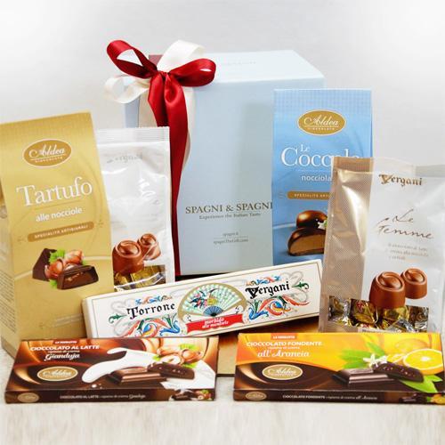 Cioccolato italiano in elegante confezione regalo