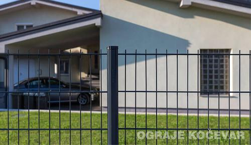 Wire fence panels 2D
