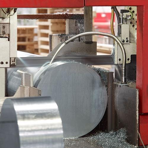 Sciage des aciers et métaux