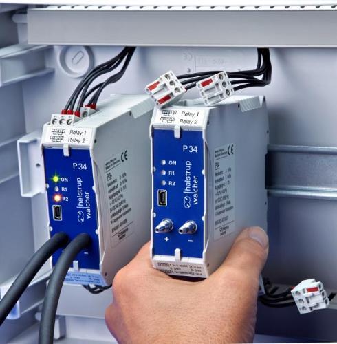 Differential pressure transmitter P 34