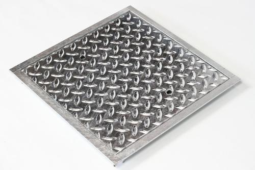 Stahl-Schachtabdeckung, begehbar