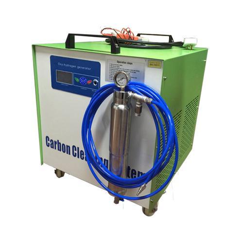 Máquina limpia de carbono
