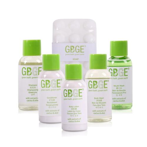 GBGE Classic Clear Hotel Amenities Collection