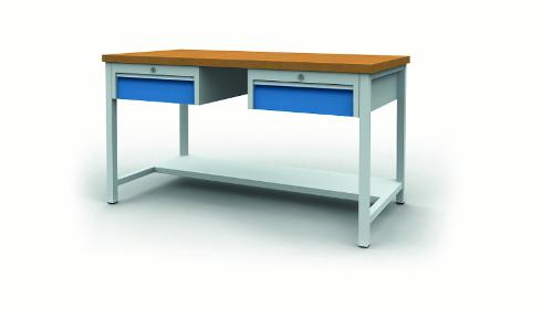 Workbench with drawer blocks