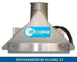 Dépoussiéreur ECOVAC 2T