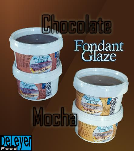 Colored Liquid Fondant Glaze