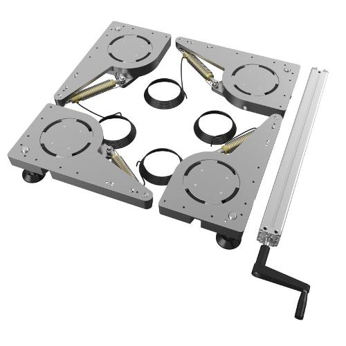 Hydraulic Lift Castor (Set)