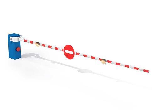 Barrière coupure voie LBA 12