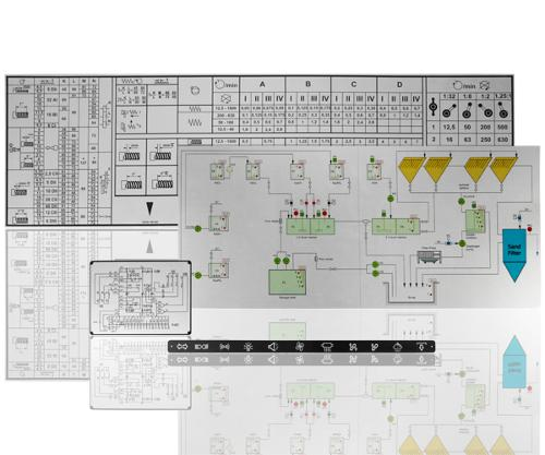 Anodized aluminum mimic panels