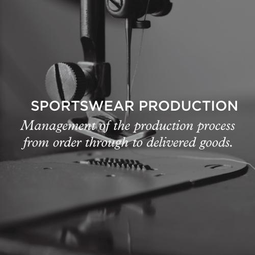 sportswear production