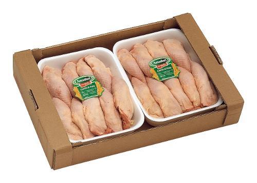 Cosce di Pollo x 10 230/270 g Classe A Fresca