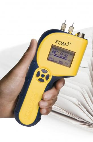 Advanced moisture meter for paper