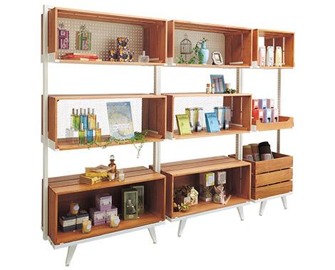 Display Shelving 'Tumiki'