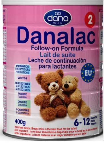 FORMULA INFANTIL DANALAC ETAPA DOS