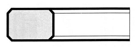E2 Normale con smussi per motore diesel