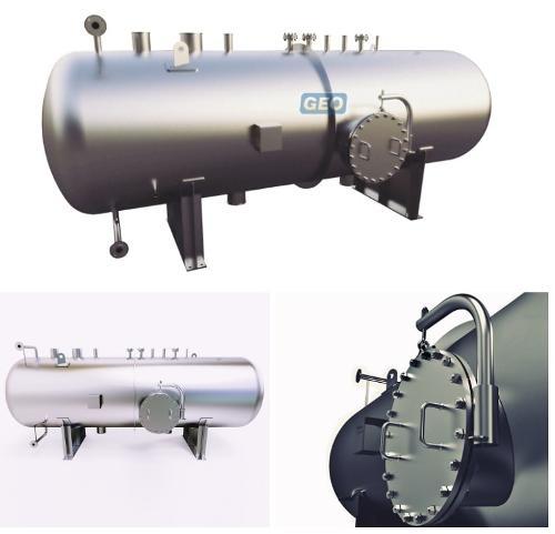 Stainless Steel High Pressure Horizontal Pressure Vessel