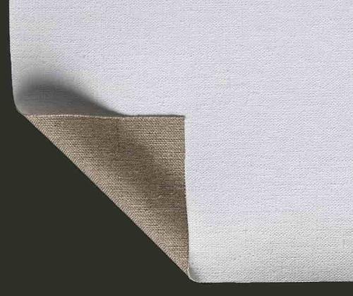 Primed canvas Lanificio Prato Linen Medium