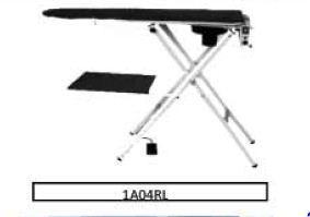 Table de repassage aspirante - chauffante - sans chaudière 1A04RL