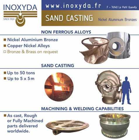 Sand castings INOXYDA