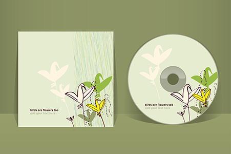 Kartonstecktasche für CDs und DVDs