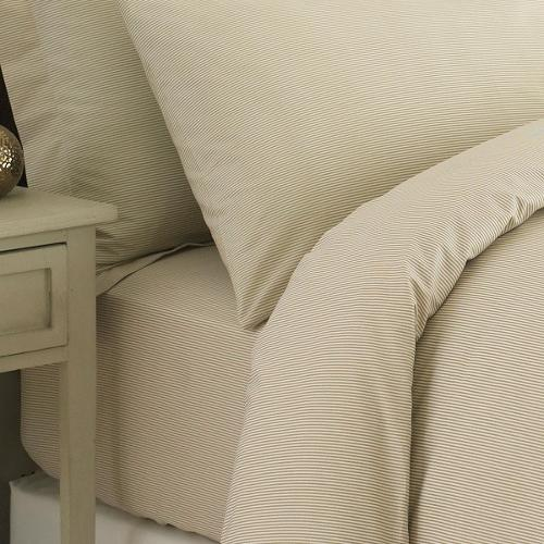 Cambridge Collection Stripped Duvet Cover Set 200 Thread