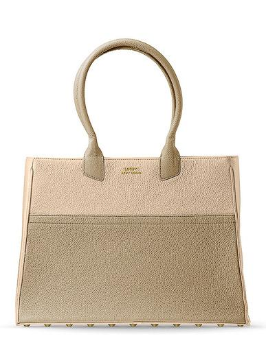Personalised Leather-Tote Handbag