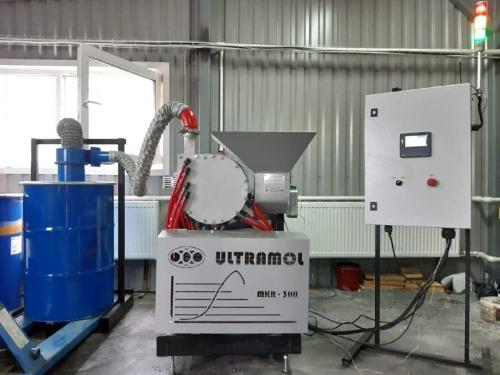Роторно-сдвиговая мельница МКР-300