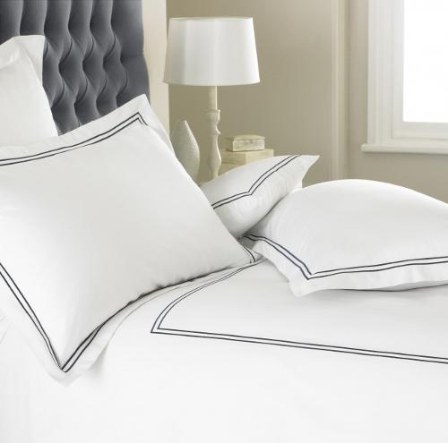 Two Row Corded Duvet Cover Set Emperor Collection 400 Thread