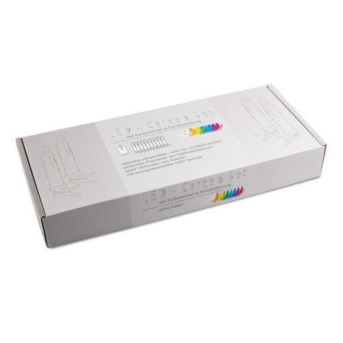 Kabellose RGB LED-Kerzen 10er Set