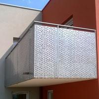 Tôle métallique décor aléatoire