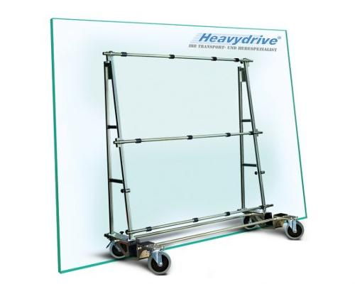 Glass transport wagons