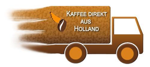 Kaffee aus Holland für gesamt Europa