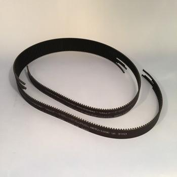 Power transmission belt with mechanical assembly