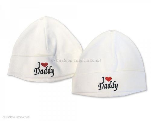 Baby Cotton Hat - I Love Daddy