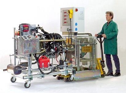 Demonstration equipment for technical training