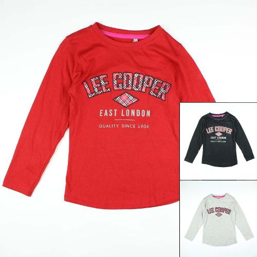 Fabricant de TEE SHIRT LEE COOPER FILLE ML PRIX
