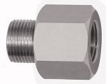 Thread adapter, Aluminium, ET 1/2 - 27 UNS, IT G 1/4, AF 17