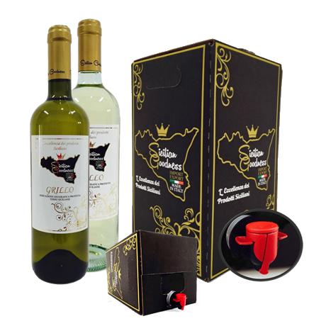 Vino Bianco (Inzolia-Grillo)