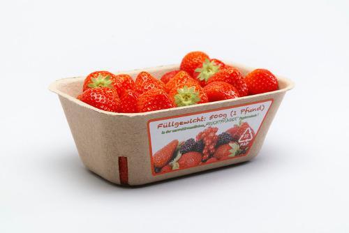 """Beerenschale """"Fruchtpfünder"""" 500 gr. aus Faserschliff"""