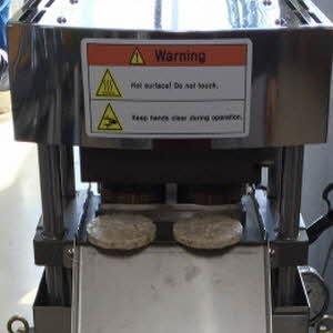 Rice cake popping machine